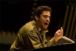 Revolutionary rock star: Benicio del Toro stars as the legendary Ernesto Che Guevara in Che.