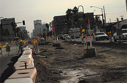 Light-rail tracks will soon be laid on this section of Central Avenue just south of Camelback Road.