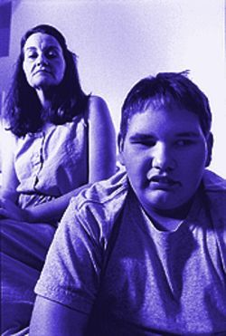 Brenda LaCroix and her son, David Wadding.