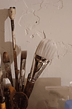 A bouquet of brushes.