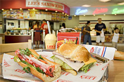 The price is right: Lee's Vietnamese banh mi and Euro-style croissant sandwiches are cheap and tasty.
