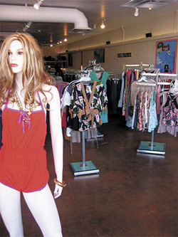 Inside Sunset Clothing XChange