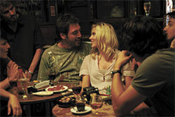 Javier Bardem and Scarlett Johansson in Vicky Christina Barcelona