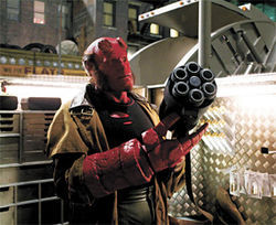 Ron Perlman in Hellboy: The Golden Army