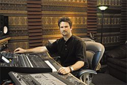 Recording engineer Jamison Weddle