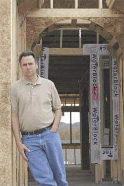 Chris Prickett, now a home inspector.