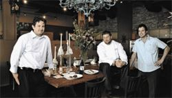 Méthode men: From left, owners Dave Berntzen, Matthew McLinn, and Dave Hershey.