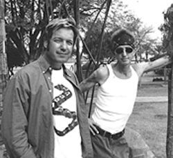 Fifty percenters: Rich Hopkins (left) and Billy Sedlmayr.