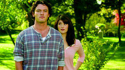 Plastic people: Gemma Arterton and Luke Evans star in Stephen Frears' Tamara Drewe.