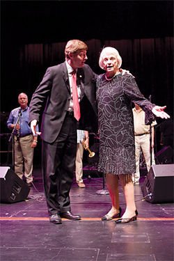 Sandra Day O'Connor . . . dancing?