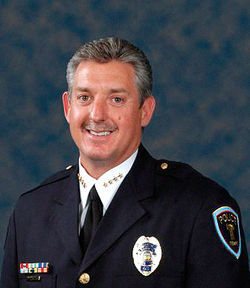 Tempe Police Chief Tom Ryff welcomed O&#039;Neal to his agency in 2008.