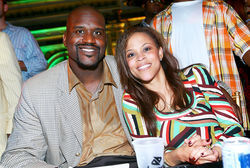 Shaq and Shaunie O'Neal in 2007, before their divorce
