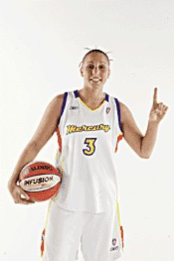 Saving grace: Rookie Diana Taurasi brings mad game to Phoenix.