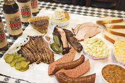 It's all about the meat, sold by the half-pound and served on butcher paper at South Phoenix's Texas BBQ House.