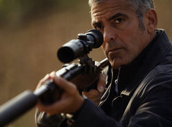 Soft targets: George Clooney plays an assassin on the run in The American.