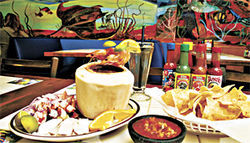 Nice catch: Mariscos Sinaloa reels in customers with fresh seafood dishes.