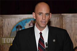 Pinal County's newly elected sheriff and photo enforcement foe, Paul Babeu.