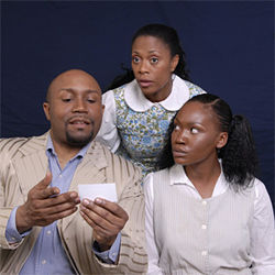 Am I blue?: Black Theatre Troupe brings the Breedloves to life.