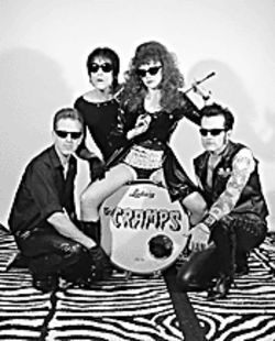You got good taste: The Cramps stay sick.