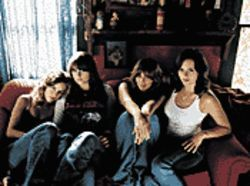 As good as Gold: The Donnas steal your rock 'n' roll  hearts with their new album.