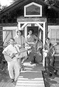 Roots music: The men from over Yonder remain rooted in bluegrass and folk, using rock and jazz only as accents to their hippied Americana.