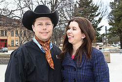 Troy and Stacy Hadrick hit the motivational-speaking circuit after feeling like Omnivore's Dilemma author Michael Pollan betrayed them with their own Steer No. 534.