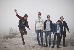The Maine &quot;on the beach.&quot;