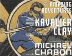 The cover of Chabon&#039;s book, featuring The Escapist, is a homage to the first issue of Captain America Comics.