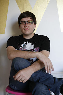 Ben Collins, co-founder of Modern Art Records.