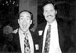 IJ founders Clint Bolick (left) and Chip Mellor, in the early days.