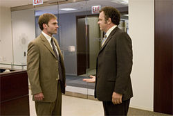 Everymen: Seann William Scott, John C. Reilly, and the ignoble things they do to separate themselves from the herd in The Promotion.