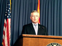 Maricopa County Attorney Bill Montgomery pivots on immigration. Now let's see him walk the talk.