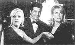Three&#039;s a crowd: Reese Witherspoon, Patrick Dempsey and Candice Bergen in Sweet Home Alabama.