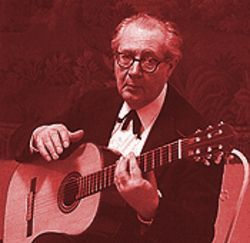 Classical gas: Some musicians argue that Esteban has exploited his connection with legendary guitarist Andrés Segovia.