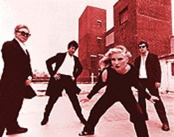 Call them: Blondie today -- from left, Chris Stein, Clem Burke, Deborah Harry and Jimmy Destri.