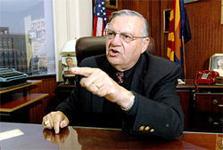 One of Sheriff Joe Arpaio's richest friends donated to the SCA fund.