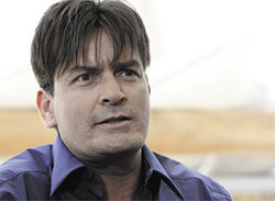 Charlie Sheen, a troofer? Yes, he declared his allegiance as a 9/11 denier on Alex Jones radio show.