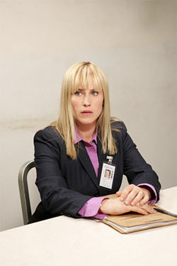 Patricia Arquette plays Allison DuBois on Medium.