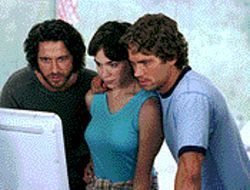 Time is on their side: Gerard Butler, Frances O&#039;Connor and Paul Walker are archaeologists on a mission in Timeline.