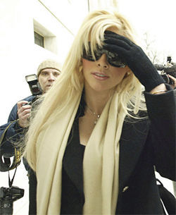 Anna Nicole at the height of her fame and glamour