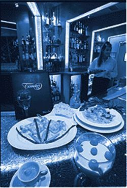 Pioneer fare: Standard Italian dishes at Tomaso's 2000.