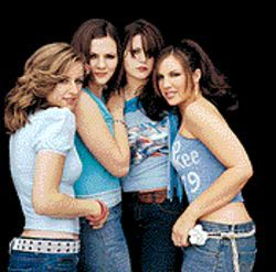 Let's make out: The Donnas want boys, lotsa boys, on Spend the Night.