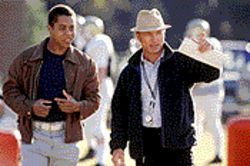 Sweet music: Cuba Gooding Jr. and Ed Harris star in the heartwarming drama Radio.