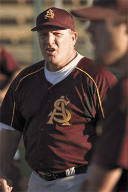 ASU baseball coach Pat Murphy