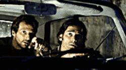 Out for blood: Mathieu Kassovitz (left) and Eric Bana hunt for terrorists in Munich.
