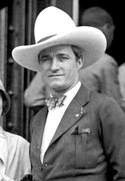 "Tom Mix, silent film's ""King of the Cowboys,"" died in an auto accident just outside Florence. He's part of the cowboy culture in Florence that defines Rankin."