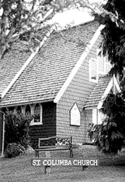 The Anglican St. Columba Church is part of the heart of Tofino.