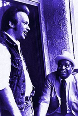 "Dave Alvin and the late Willie Dixon: ""He would come into the office to get his checks, and he would just be so proud."""
