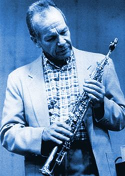 Legendary saxman Steve Lacy hits the Rhythm Room this week.