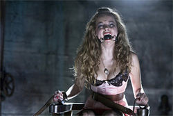 Meat puppet: Bijou Phillips is in a bind in Hostel: Part II.